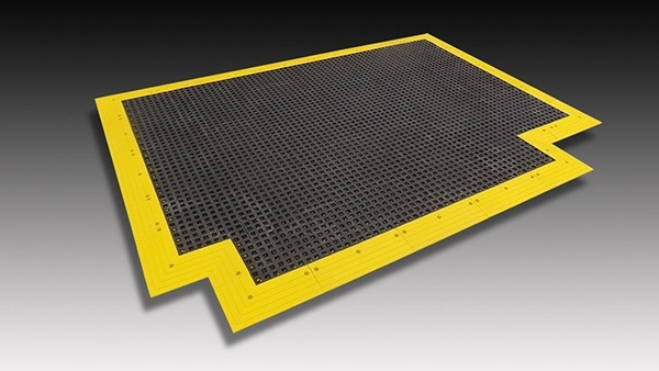 AntiSlip MatTraction Stop Slips Falls Safeguard Technology - Anti skid flooring material
