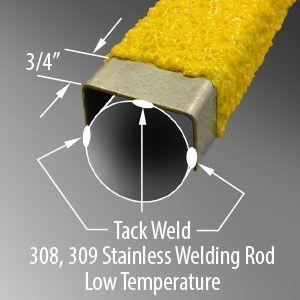 Non Slip Ladder Covers Amp Slip Resistant Ladder Rungs