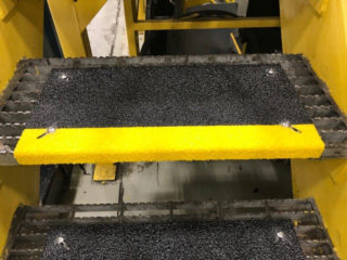 Anti-Slip step covers prevent slips and falls